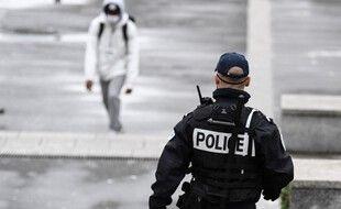 Un policier dans le Val-d'Oise. (illustration)