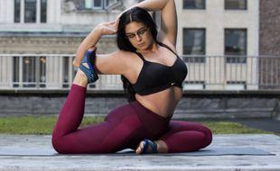 Nike a choisi une top modèle grande taille pour sa nouvelle gamme de brassières de sport.