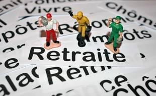 Bourgoin jallieu le 07/10/2016 : Photo illustration sur les retraites/Credit:ALLILI MOURAD/SIPA/1610101540