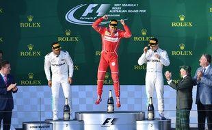 Vettel a décidé de se casser en jet-pack