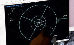 L'astéroïde 2014 JO25 lors de son passage à proximité de la Terre.