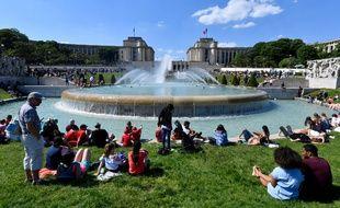 Les parcs parisiens ont été pris d'assaut ce week-end.
