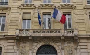 La Banque de France à Paris.