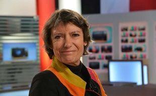 Veronique Cayla, presidente d'Arte sur le plateau de LCI en mars 2013.
