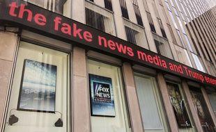Les studio de Fox News à New York.