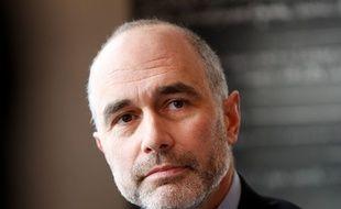 Gilles Boyer, conseiller et directeur de la campagne d'Alain Juppé à la primaire à droite, le 12 octobre 2016 à Boulogne