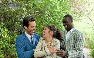 Colin (Romain Duris), Chloé (Audrey Tautou) et Nicolas (Omar Sy).