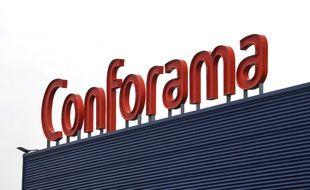 Image d'illustration d'une enseigne Conforama.