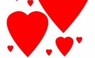 Coeur, amour et badinage