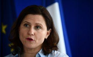 Roxana Mariceanu, ici le 9 mars 2020 lors d'une conférence de presse, a commencé à préciser les règles pour la reprise du sport en période de déconfinement.