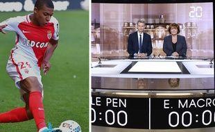 Le match Monaco-Juventus à lieu le même jour que le débat d'entre-deux-tours.