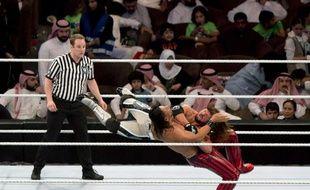 Le tournoi de catch organisé pour la première fois par la WWE en Arabie Saoudite ne s'est pas passé comme prévu.