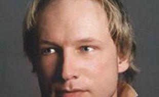 Photo non datée d'Anders Behring Breivik, 32 ans, le Norvégien suspecté d'avoir perpétré la double attaque à Oslo, le 22 juillet 2011.