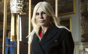Donatella Versace le 26 février 2018
