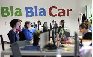 Après le covoiturage, BlaBlaCar s'attaque désormais au transport en car. Illustration