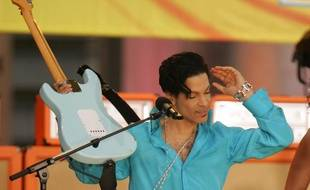 Prince au Bryant Park en 2006 pour l'émission Good Morning America