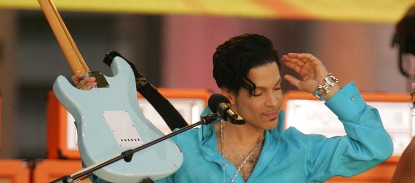 Prince au Bryant Park en 2006 pour l'émission Good Morning America