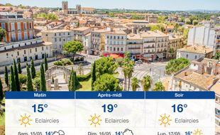 Météo Montpellier: Prévisions du vendredi 14 mai 2021