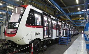 Le futur métro de Lille de 52 m, construit par Alstom.