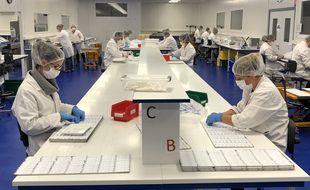 Implantée à Guipry-Messac au sud de Rennes, la société NG Biotech emploie 120 personnes.