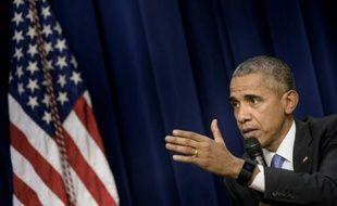 Barack Obama, le 22 octobre 2015, à Washington