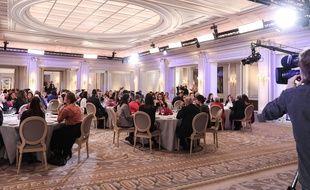 Un des salons du palace parisien George-V a accueilli la finale 2020 de