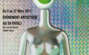 """Affiche de l'exposition """"Regards et mues""""."""