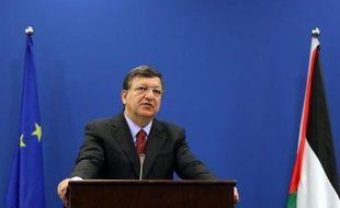 """Le président de la Commission européenne, José Manuel Barroso, a appelé dimanche à une relance des négociations israélo-palestiniennes, arguant que le processus de paix ne devait pas devenir """"orphelin du +Printemps arabe+""""."""