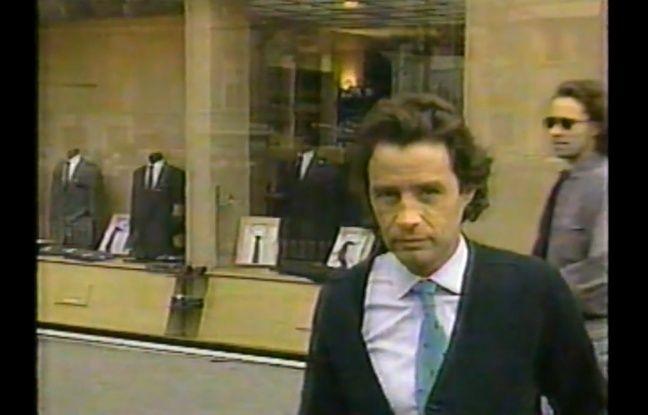 Jean-Luc Brunel dans une enquête du magazine américain «60 Minutes» diffusée en décembre 1988 sur CBS.