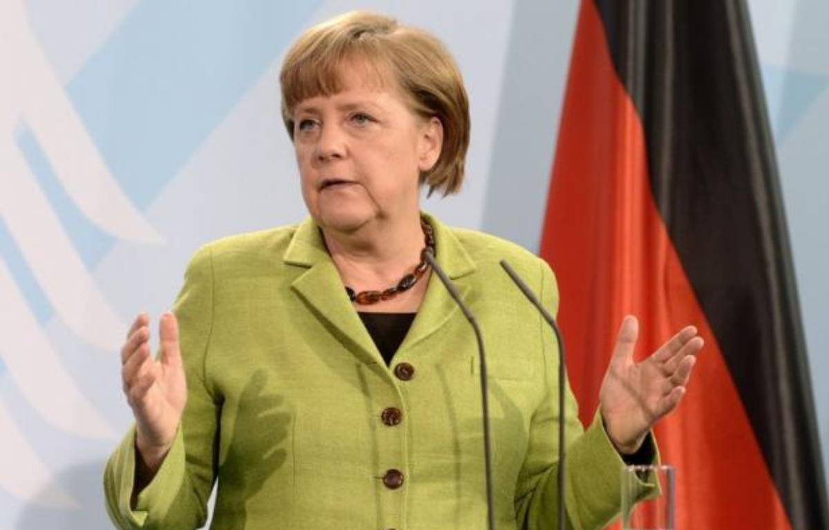 La chancelière Angela Merkel a invité dimanche François Hollande, nouveau président français, à Berlin après lui avoir téléphoné, selon un communiqué. – Odd Andersen afp.com