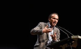 Tariq Ramadan lors d'une conférence à Bordeaux en mars 2016.