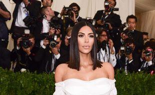 Kim Kardashian, le 1er mai 2017, au Met Gala.