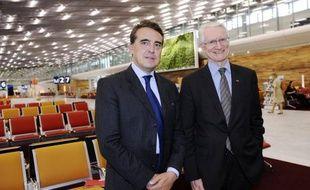 Le PDG d'Aéroports de Paris (ADP), Pierre Graff, atteint par la limite d'âge fixé par les statuts de l'entreprise, a confirmé mercredi qu'il partirait bien dans trois semaines.