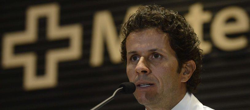 Rodrigo Lasmar, le docteur qui a opéré Neymar.