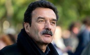 Edwy Plenel, président de Mediapart, le 2 novembre 2014 à Paris