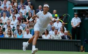 Nadal à Wimbledon en 2018