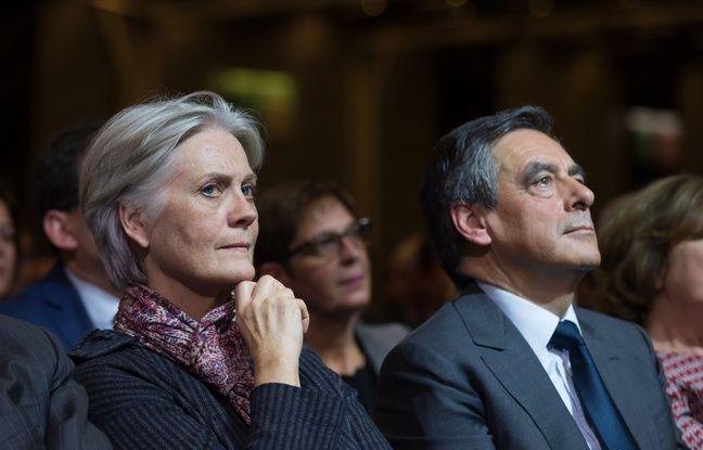 Penelope et François Fillon, le 25 novembre 2016 à Paris.