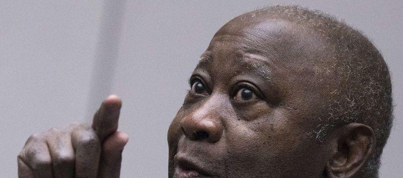 Laurent Gbagbo, le 1er février 2019 devant la Cour pénale internationale à La Haye.