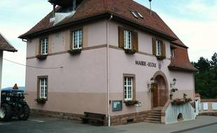 Mairie de Saint-Nabor, en Alsace.