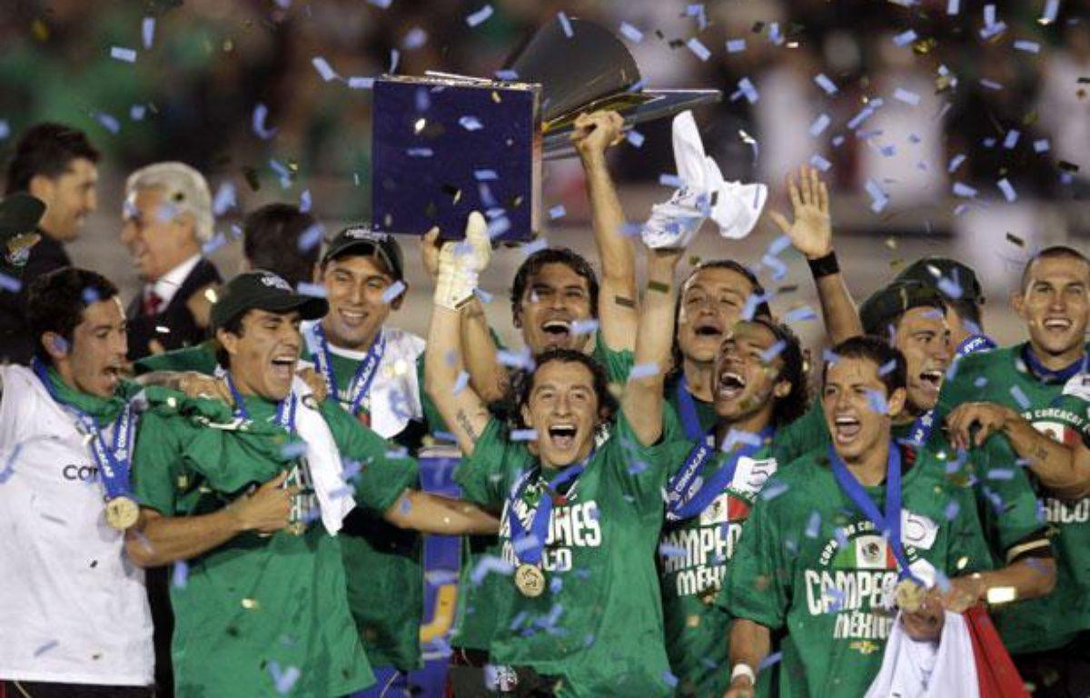 Le Mexique, vainqueur de la Gold Cup, le 26 juin 2011 – Jae.C.HONG/SIPA