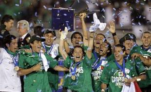 Le Mexique, vainqueur de la Gold Cup, le 26 juin 2011