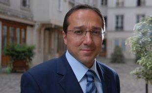 Faouzi Lamdaoui, secrétaire national du PS à l'égalité.