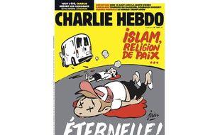 La une de Charlie Hebdo après les attentats en Catalogne, le 23 août 2017
