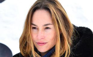 Vanessa Demouy, à Gérardmer (Vosges) en janvier 2019.