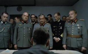 Le député Guénhaël Huet (LR) a porté plainte contre X en juillet 2016 à cause d'une vidéo qui le caricature en Hitler.