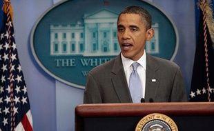Barack Obama à la Maison blanche (Washington) le 31 juillet 2011.