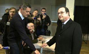 Régionales 2015: François Hollande a voté à Tulle