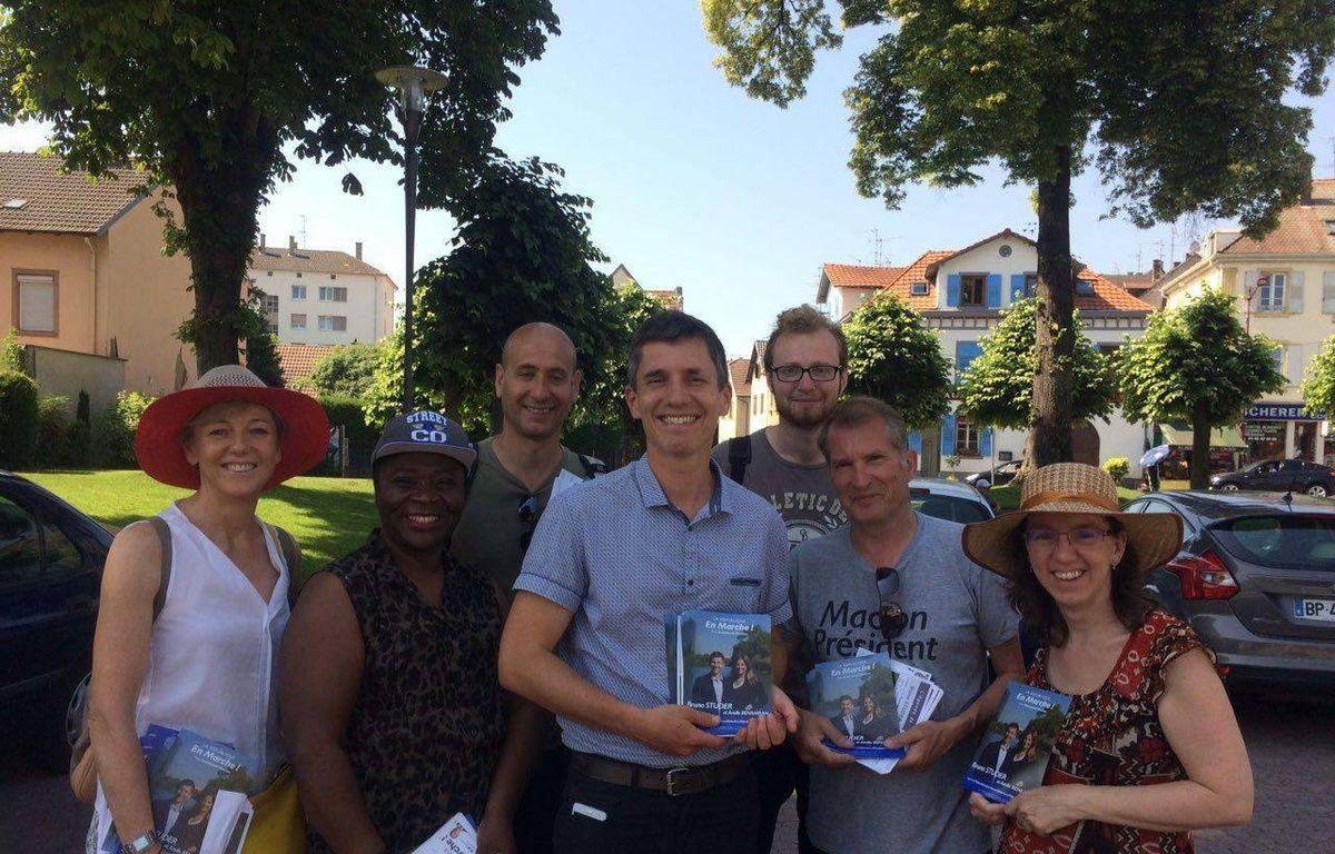 Après s'être pris au jeu de la campagne, Bruno Studer, professeur d'histoire-géographie, est désormais député La République en marche dans la troisième circonscription du Bas-Rhin. – Photo page Facebook Bruno Studer 67.