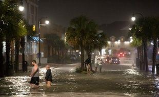 L'ouragan Isaias est passé au-dessus de la Caroline du Nord, le 3 août 2020.
