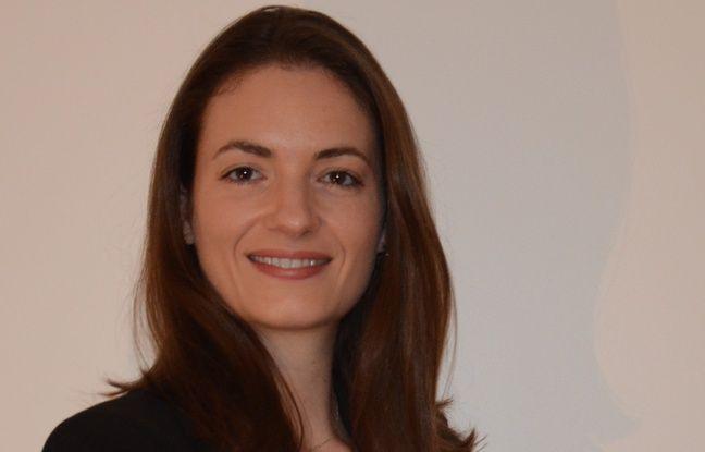 La nouvelle directrice de l'aéroport de Rennes Nathalie Ricard.